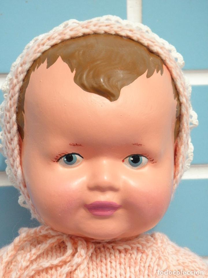 Muñecas Composición: Muñeca bebé inglesa antigua años 50 de 48 cm - Foto 3 - 82123808