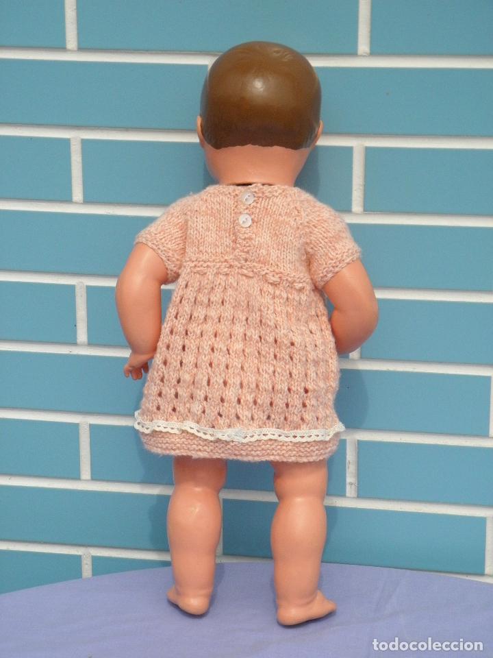 Muñecas Composición: Muñeca bebé inglesa antigua años 50 de 48 cm - Foto 4 - 82123808