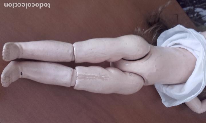 Muñecas Composición: Antigua muñeca de 49 cm, marcada (301 SFBJ PARIS N% 7) años 20 - Foto 7 - 87562600