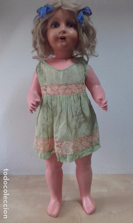 Muñecas Composición: Antigua muñeca de composición de 72 cm - Foto 3 - 116451187