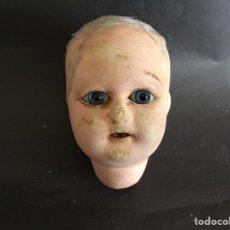 Muñecas Composición: CABEZA DE MUÑECA ANTIGUA PARA RESTAURAR. Lote 108719927