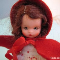 Muñecas Composición: VINTAGE NANCY ANN STORY BOOK DOLL 1950'S , MUÑECA ANTIGUA NANCY ANN 15 CM.CAPERUCITA. Lote 108763999