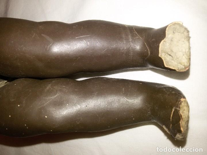 Muñecas Composición: ANTIGUO MUÑECO NEGRO - CARTÓN PIEDRA - AÑOS 30 - Foto 18 - 118101035