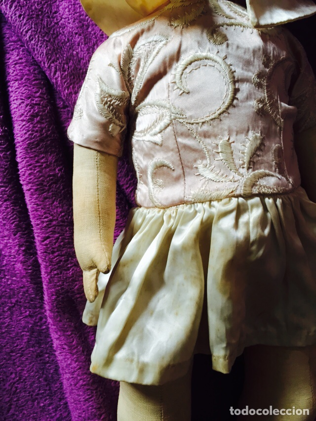 Muñecas Composición: Lote de 2 muñecas antiguas - Foto 3 - 121505138