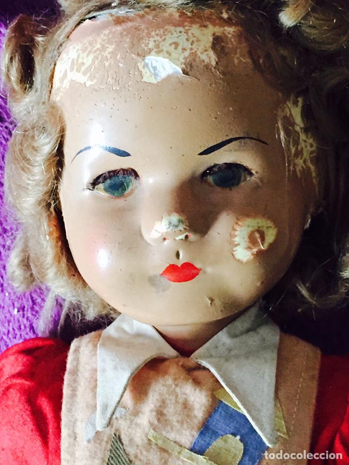 Muñecas Composición: Lote de 2 muñecas antiguas - Foto 7 - 121505138