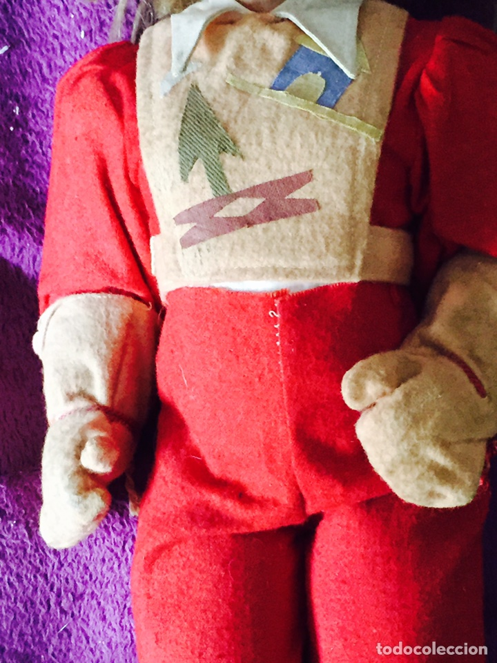 Muñecas Composición: Lote de 2 muñecas antiguas - Foto 8 - 121505138