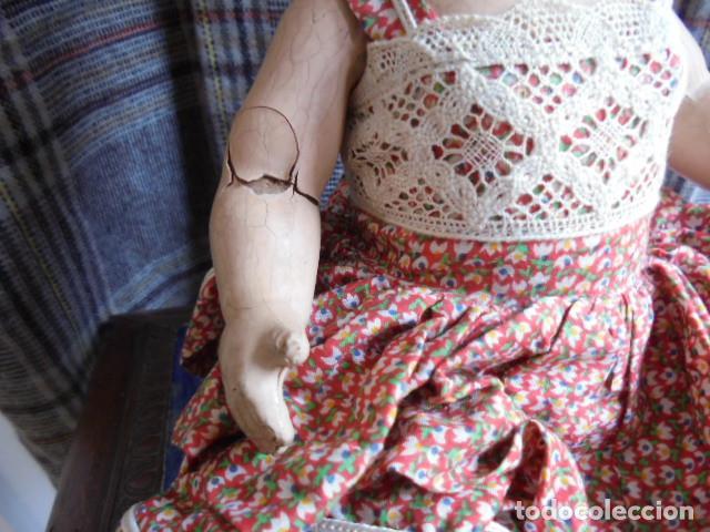 Muñecas Composición: PRECIOSA MUÑECA AÑOS 50 - Foto 2 - 125165667
