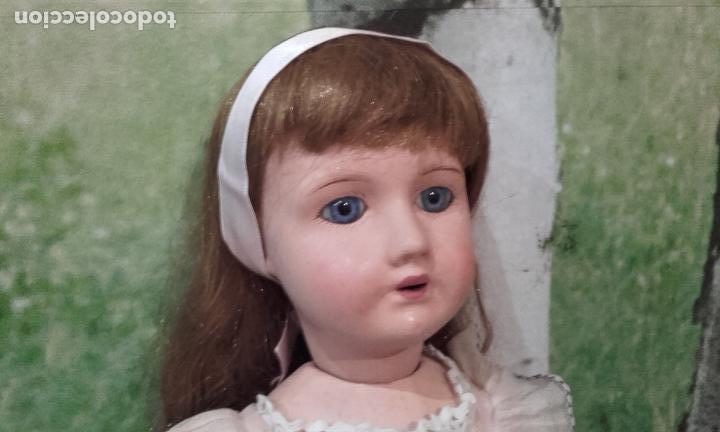 Muñecas Composición: Antigua muñeca de 49 cm, marcada (301 SFBJ PARIS N% 7) años 20 - Foto 3 - 87562600