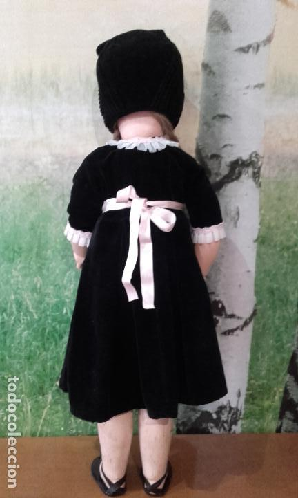 Muñecas Composición: Antigua muñeca andadora de cartón piedra (71 cm) - Foto 5 - 127223635