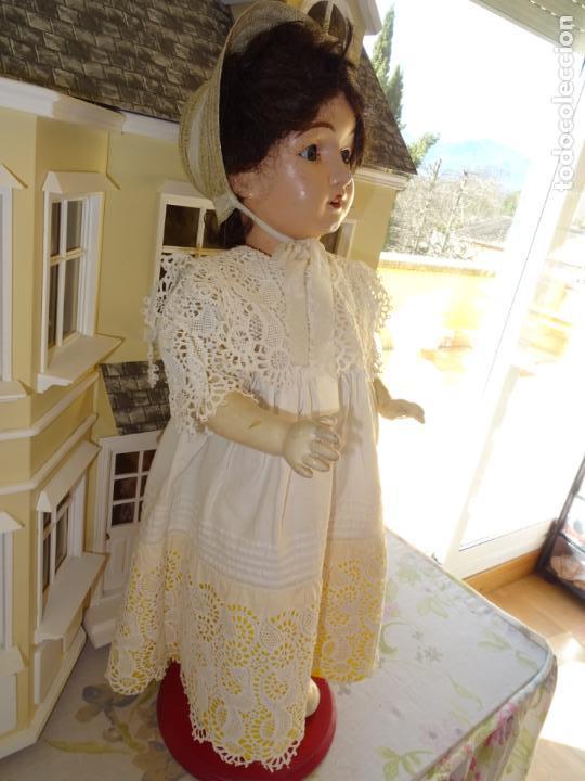 Muñecas Composición: ANTIGUA Y PRECIOSA MUÑECA INGLESA AÑOS 40 - Foto 6 - 147032862