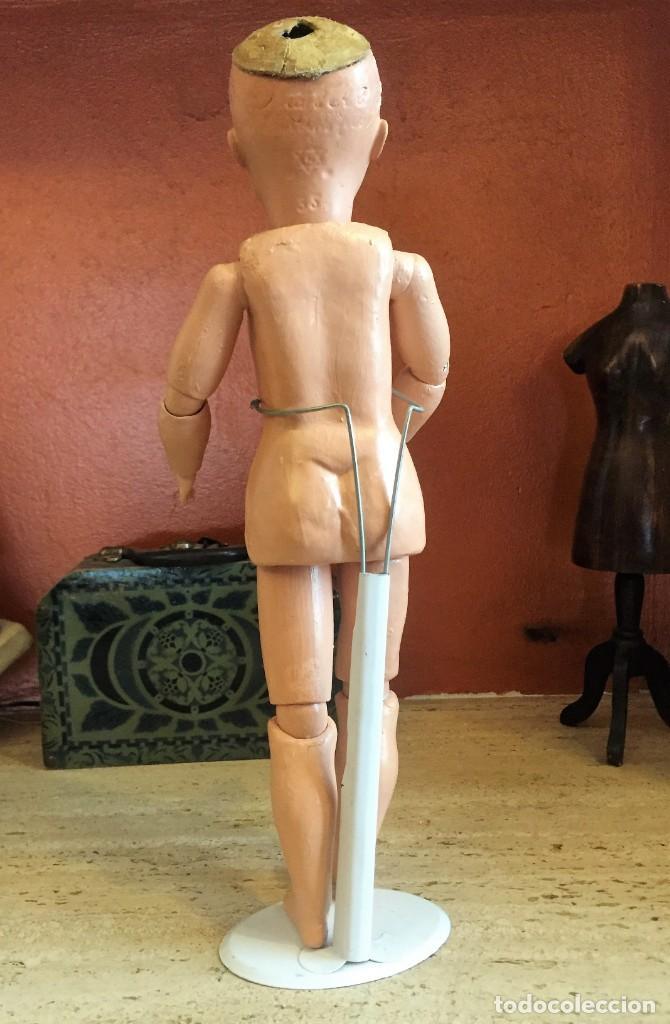Muñecas Composición: DE MUSEO, MUÑECA PREREVOLUCIONARIA RUSA - Foto 3 - 147607350