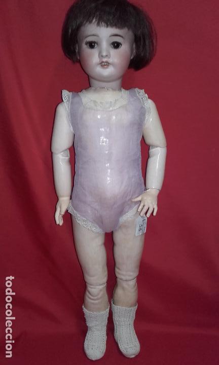 Muñecas Composición: Antigua muñeca SFBJ 60 PARIS 6 (60 cm) año 1919 - Foto 7 - 104568679