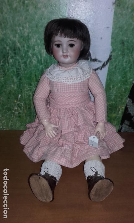 Muñecas Composición: Antigua muñeca SFBJ 60 PARIS 6 (60 cm) año 1919 - Foto 6 - 104568679