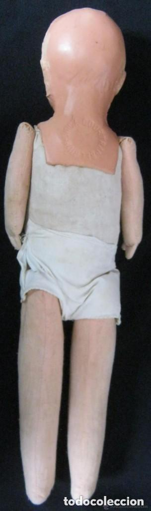 Muñecas Composición: ANTIGUA MUÑECA CABEZA DE COMPOSICIÓN Y CUERPO DE TRAPO COURTRAI PPIO.S.XX - Foto 6 - 157864614