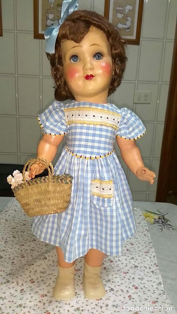 Muñecas Composición: MUÑECA DE COMPOSICION ALEMANA -AÑOS 40 - Foto 2 - 157874374