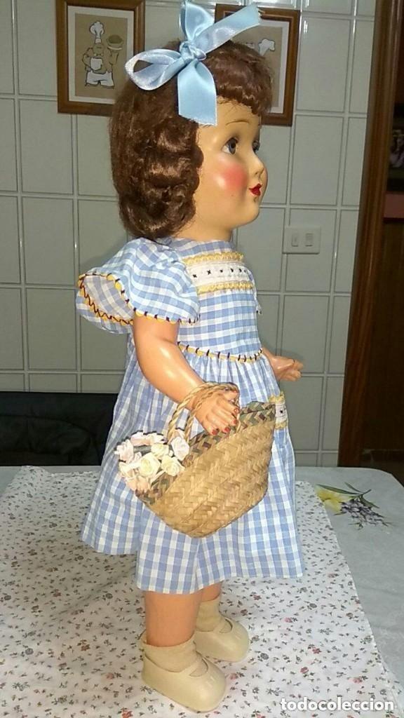 Muñecas Composición: MUÑECA DE COMPOSICION ALEMANA -AÑOS 40 - Foto 9 - 157874374