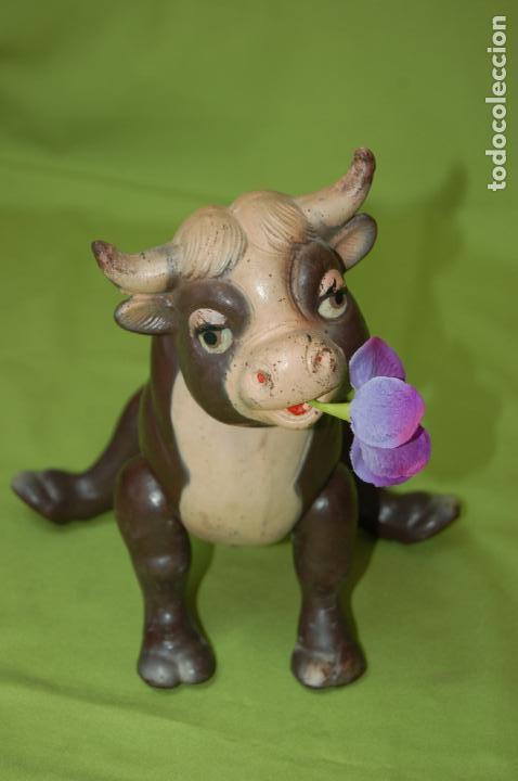 Muñecas Composición: torito ferdinando de ideal toys disney 1938 - Foto 2 - 159045074