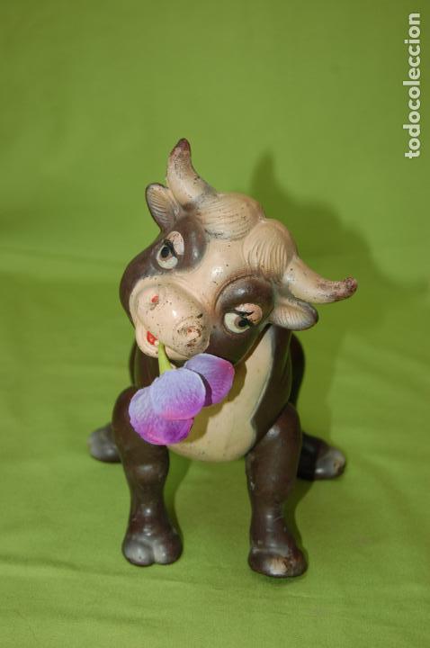 Muñecas Composición: torito ferdinando de ideal toys disney 1938 - Foto 3 - 159045074
