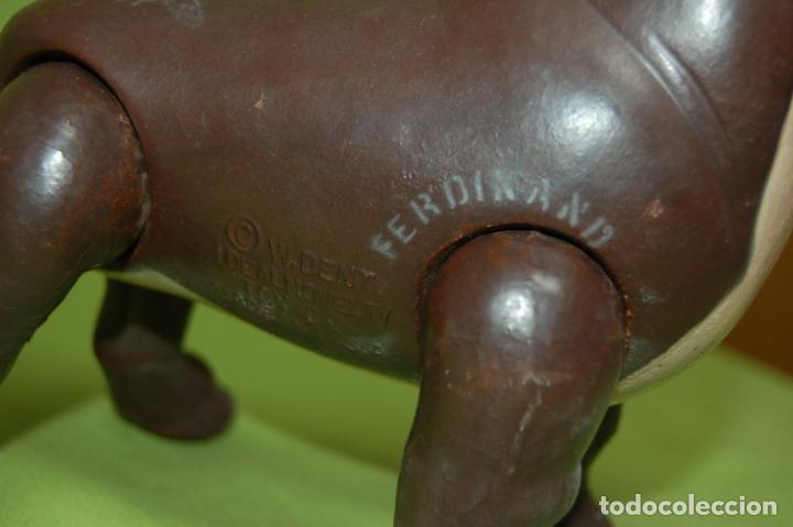 Muñecas Composición: torito ferdinando de ideal toys disney 1938 - Foto 4 - 159045074