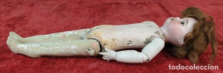 Muñecas Composición: MUÑECA CON CABEZA DE PORCELANA. AICH MENZEL. EDUARDO JUAN. AUSTRIA. CIRCA 1920. - Foto 8 - 168800064