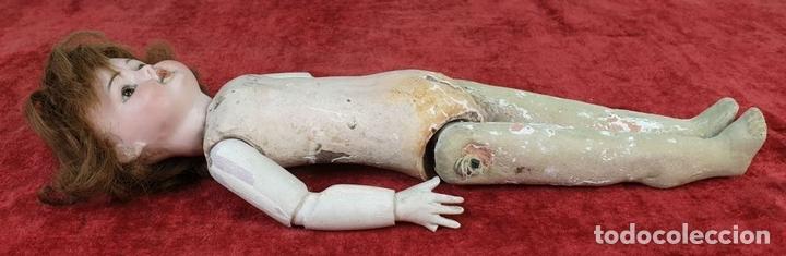 Muñecas Composición: MUÑECA CON CABEZA DE PORCELANA. AICH MENZEL. EDUARDO JUAN. AUSTRIA. CIRCA 1920. - Foto 10 - 168800064