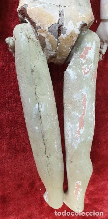 Muñecas Composición: MUÑECA CON CABEZA DE PORCELANA. AICH MENZEL. EDUARDO JUAN. AUSTRIA. CIRCA 1920. - Foto 13 - 168800064