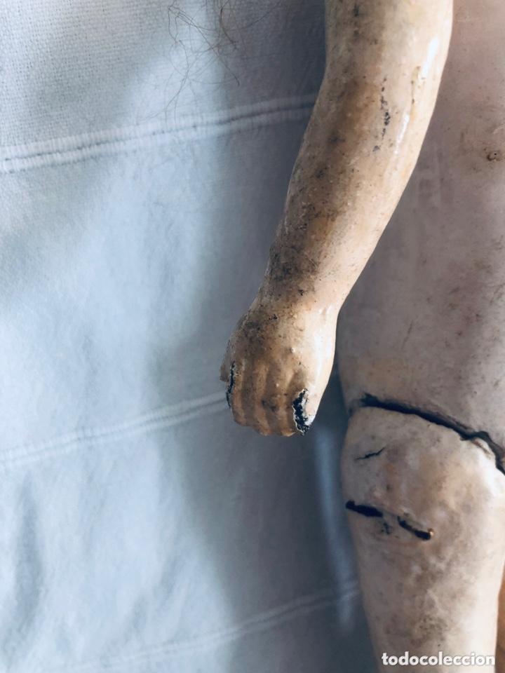 Muñecas Composición: Muñeca alemana cartón piedra - Foto 7 - 174017255