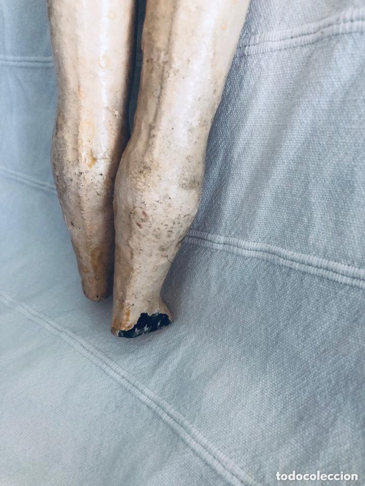 Muñecas Composición: Muñeca alemana cartón piedra - Foto 10 - 174017255