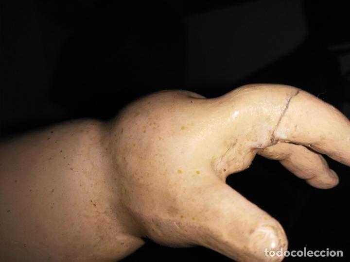 Muñecas Composición: Antigua muñeca andadora de cartón piedra (71 cm) - Foto 27 - 127223635