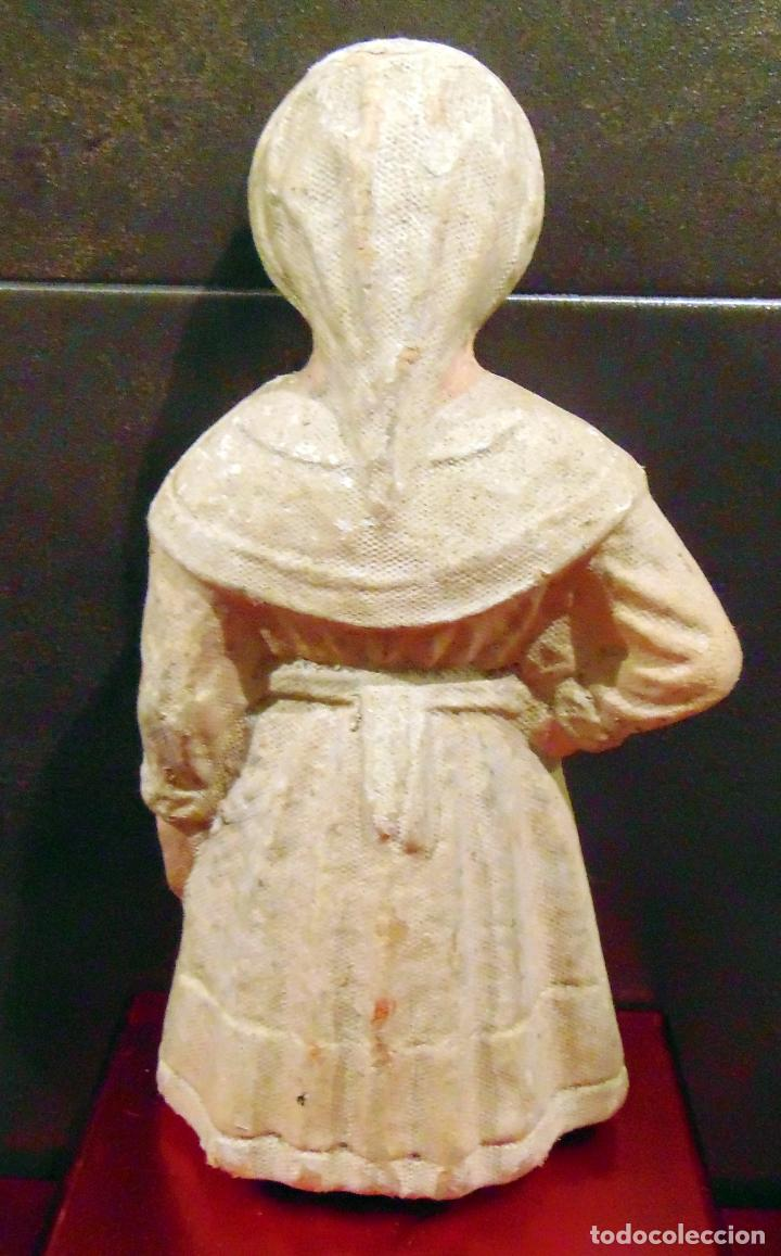 Muñecas Composición: rarisima , carton, enfermera cruz roja , ver fotos 24 cm - Foto 3 - 183733081