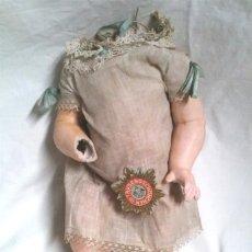 Muñecas Composición: TRONCO Y EXTREMIDADES MUÑECA AÑOS 40, CARTÓN PIEDRA PATINADO, RESTO TIENDA. MED 27 CM. Lote 190273860