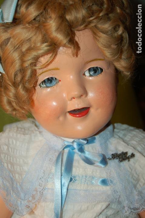 Muñecas Composición: muñeca de ideal shirley temple grande - Foto 12 - 158228006