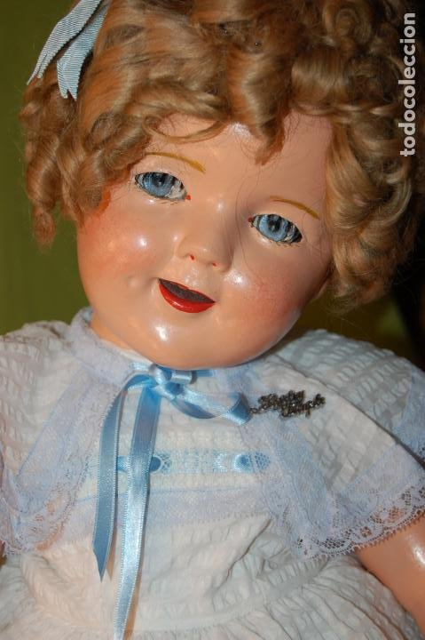 Muñecas Composición: muñeca de ideal shirley temple grande - Foto 13 - 158228006