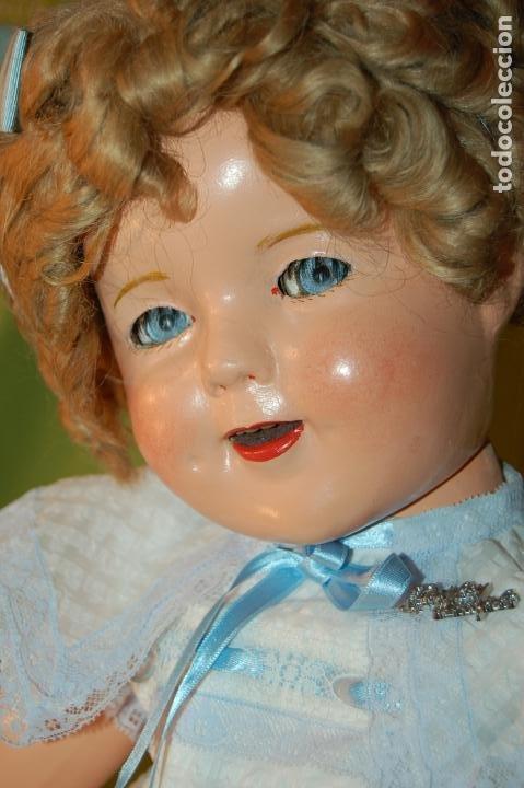 Muñecas Composición: muñeca de ideal shirley temple grande - Foto 17 - 158228006