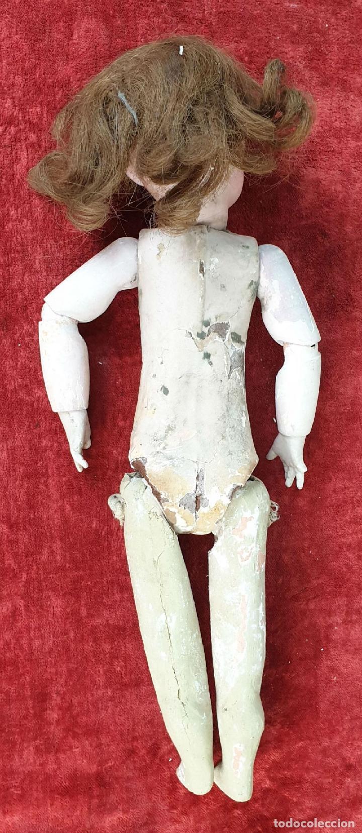 Muñecas Composición: MUÑECA CON CABEZA DE PORCELANA. AICH MENZEL. EDUARDO JUAN. AUSTRIA. CIRCA 1920. - Foto 15 - 168800064