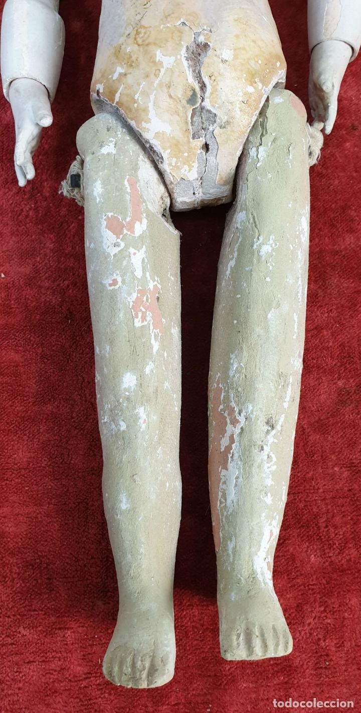 Muñecas Composición: MUÑECA CON CABEZA DE PORCELANA. AICH MENZEL. EDUARDO JUAN. AUSTRIA. CIRCA 1920. - Foto 16 - 168800064