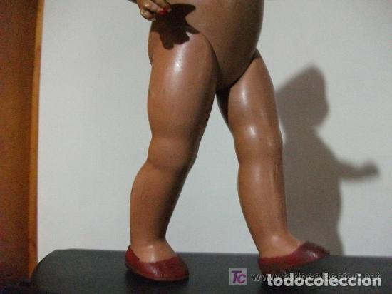 Muñecas Composición: ANTIGUA MUÑECA DE COMPOSICIÓN O CELULOIDE - ARTICULABLE - 40 CMS DE ALTO - Foto 3 - 194725565