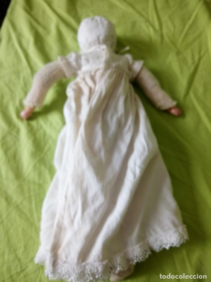 Muñecas Composición: Antigua muñeca kramer & reinhardt 255 tortuga cabeza de celuloide ojos de cristal,años10/20 - Foto 20 - 195400891