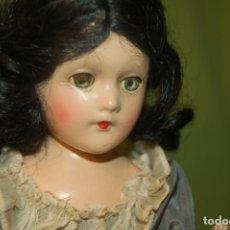 Muñecas Composición: SCARLETT O´HARA DE MADAME ALEXANDER DE 1937. Lote 199517175