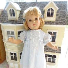 Bambole Composizione: ANTIGUA MUÑECA IDEAL DOLLS - AÑOS 40 - NORTEAMERICANA DE COMPOSICIÓN - POSIBLE SHIRLEY TEMPLE. Lote 204399398