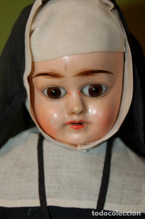 Muñecas Composición: muñeca monja antigua eden bebé? - Foto 2 - 208415995