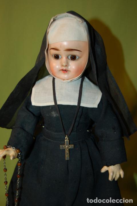 Muñecas Composición: muñeca monja antigua eden bebé? - Foto 7 - 208415995