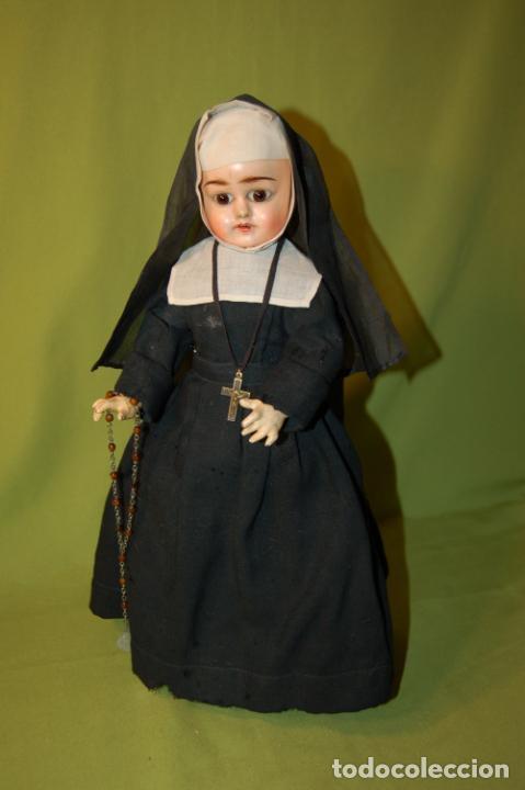 Muñecas Composición: muñeca monja antigua eden bebé? - Foto 9 - 208415995