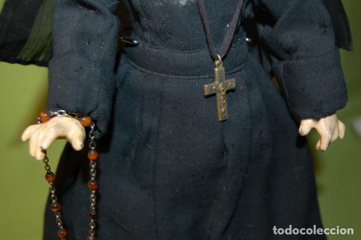 Muñecas Composición: muñeca monja antigua eden bebé? - Foto 10 - 208415995