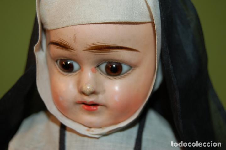 Muñecas Composición: muñeca monja antigua eden bebé? - Foto 11 - 208415995