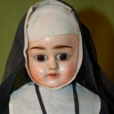 Muñecas Composición: MUÑECA MONJA ANTIGUA EDEN BEBÉ?. Lote 208415995