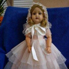 Muñecas Composición: ANTIGUA MUÑECA MARILUZ ALEMANA AÑOS 40-50. Lote 221970312