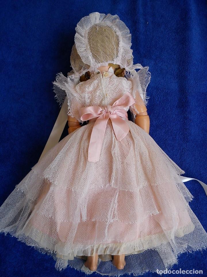 Muñecas Composición: Antigua muñeca Mariluz Alemana años 40-50 - Foto 4 - 221970312