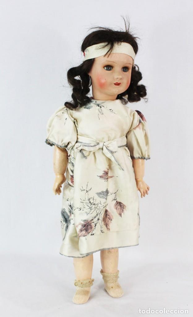 Muñecas Composición: Ref T8 - Muñeca composición Andadora. Unis France 8 - Composition doll 52cm - Foto 16 - 224894031