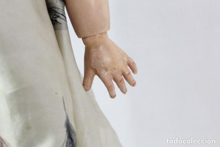 Muñecas Composición: Ref T8 - Muñeca composición Andadora. Unis France 8 - Composition doll 52cm - Foto 8 - 224894031